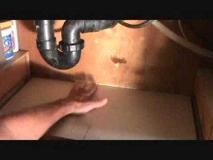 under-kitchen-sink-leak